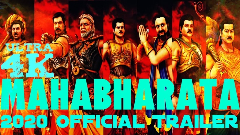 MAHABHARATA 2020 Movie Trailer | Cast - Amir Prabhas Hirithik Deepika Rajinikanth Kamal Reka Ash-Rai