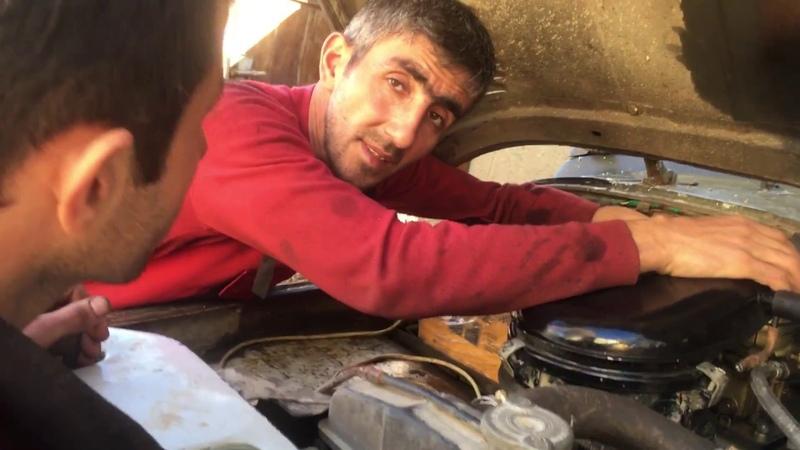 Uaz Patriot Əsil Balıq tutmaq üçün və ov avtomobili offroad Samir Usta