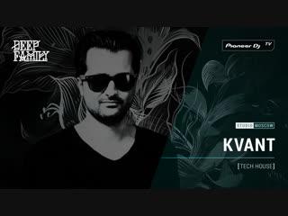 KVANT [ tech house ] @ Pioneer DJ TV | Moscow