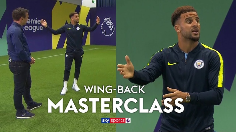 How to play wing-back under Pep Guardiola | Kyle Walker's Wing-Back Masterclass
