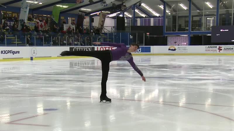 Iliya Kovler (CAN) 2018-2019 SP