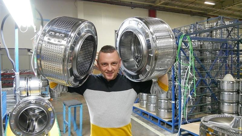 Как делают стиральные машины? Экскурсия на завод БЕКО
