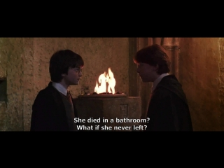 Гарри Поттер на английском   Harry Potter and the Chamber of Secrets   Spiders flee before it