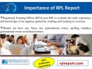 Provides RPL ACS Project Report Writing