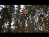 прыжок на тарзанке, 9 метров