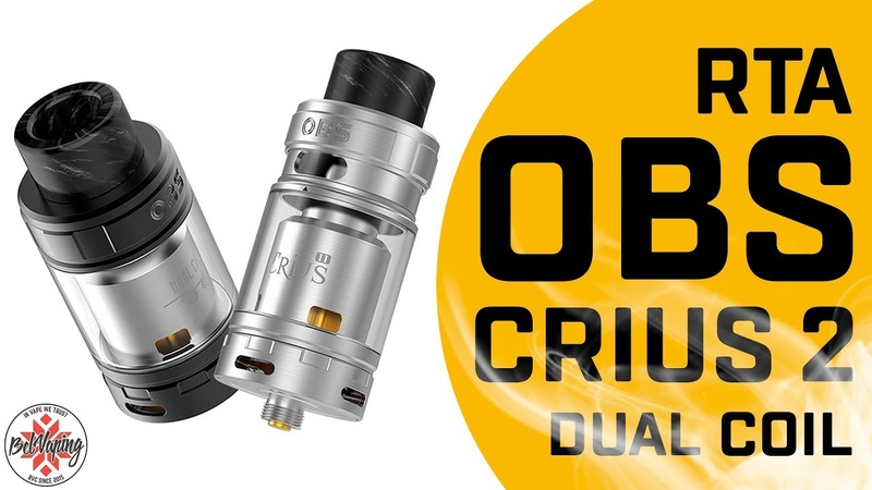 Атомайзер OBS Crius II Dual Coil RTA TANK