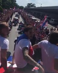 """Hrvatski nogometni savez on Instagram: """"?? #Vatreni, dobrodošli natrag / Welcome back! ?#BudiPonosan #FlamingPride #Obitelj #Family #WorldCup"""""""