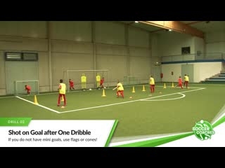 4 essential soccer shooting drills for youth players _ finishing in soccer