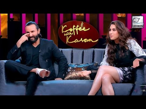 Koffee With Karan 6: 5 SECRETS Revealed By Sara Ali Khan Saif Ali Khan | LehrenTV