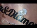 нежнейшая пустышка инкрустированна полубусинами Сваровски и стразами от кристаллайзера Елизавета Кюрчева LizaDiamondUa