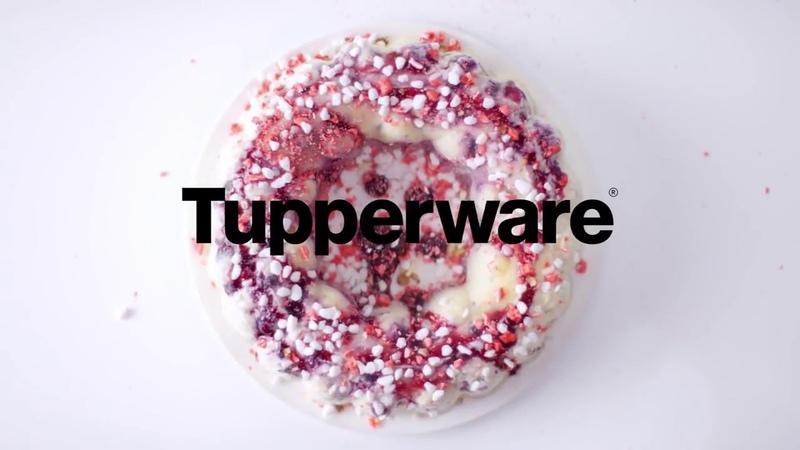Форма для слоеных салатов и желе tupperware