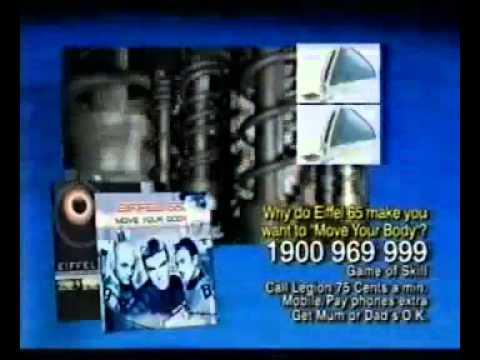 Eiffel 65 iMac Commercial Ad (2000)