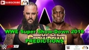 WWE Super Show-Down 2019 Braun Strowman vs. Bobby Lashley Predictions WWE 2K19