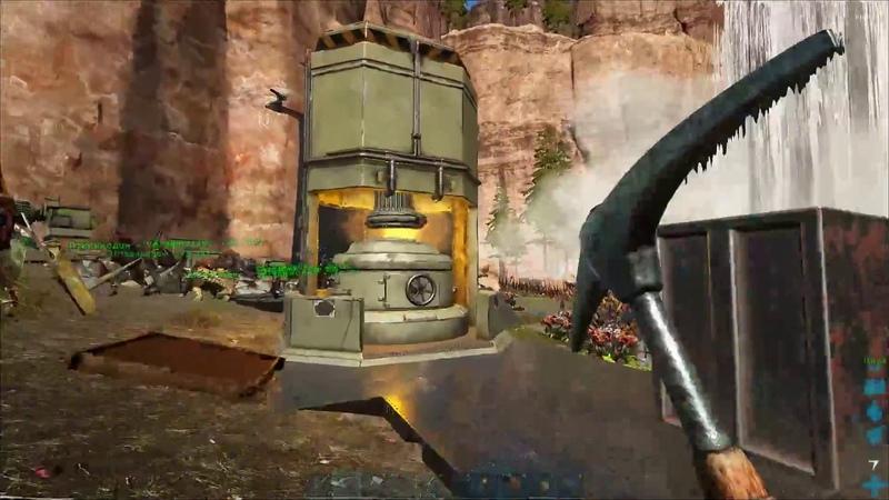 ARK: Survival Evolved - Выживаем на сервере х50 Ragnarok (3 часть)