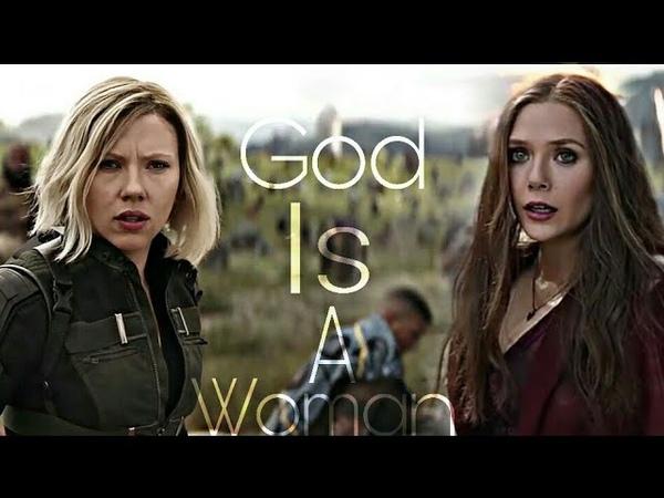 Natasha Romanoff Wanda Maximoff   God Is A Woman