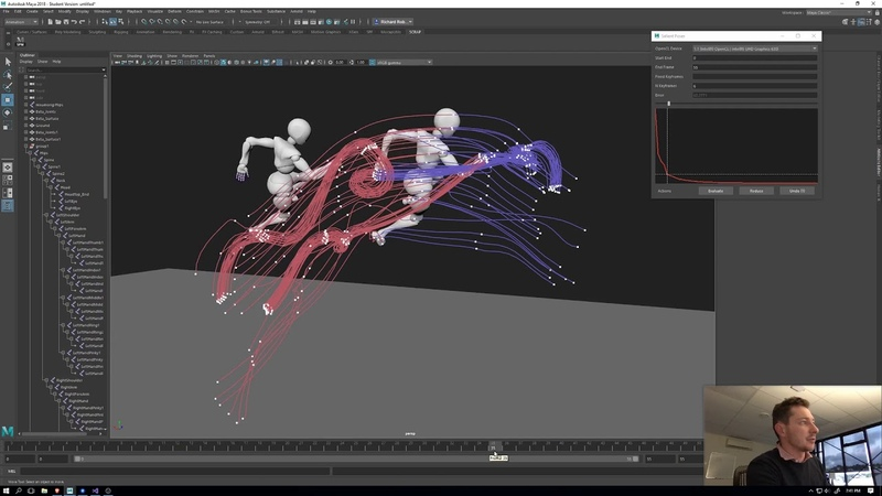 Edit and compress mocap easily in Maya! (Salient Poses v0.2)