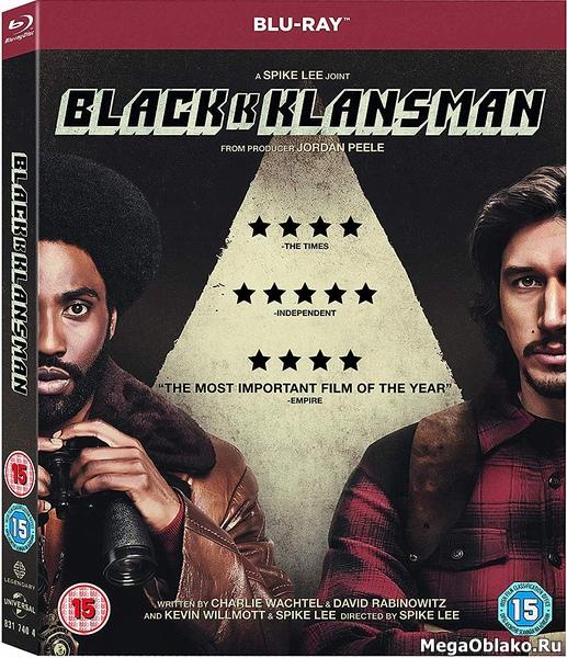 Чёрный клановец / BlacKkKlansman (2018/BDRip/HDRip)
