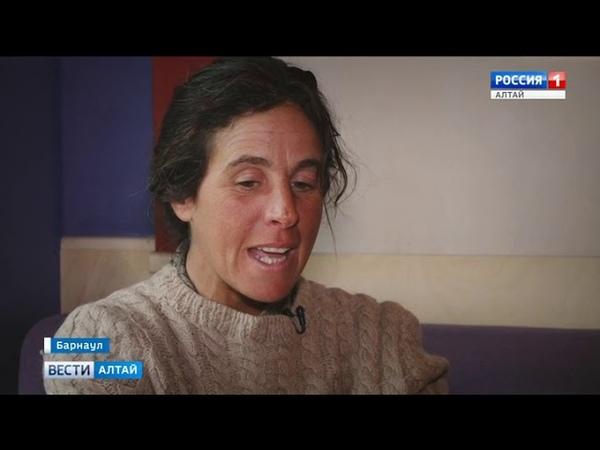 Итальянка едет на лошадях из Монголии в Польшу через Алтайский край