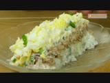Женские Хитрости (vk.com/womantrlck) салат с тунцом и рисом