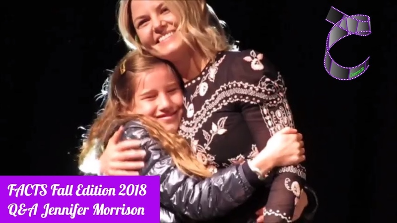 QA Jennifer Morrison (OUAT, House M.D) at FACTS Fall edition 2018 (HD Sound)