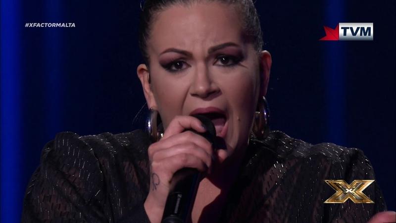 Petra sets fire to the rain | X Factor Malta | Live Show 3