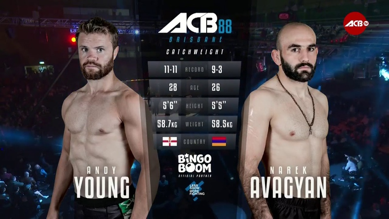 ACB 88: Narek Avagyan vs. Andy Young