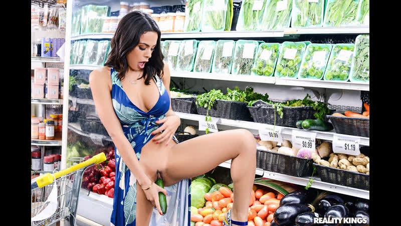 Luna Star Grocery Store Milf Anal, MILF, Big Tits, Masturbation, Blowjob, Deep Throat, Pussy Licking,