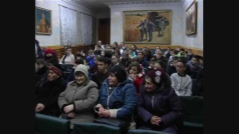 15 ноября в Мемориальном музее П Ангелиной состоялась встреча учащихся Старобешевских школ с женщинами трактористками района