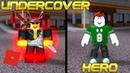 Super Power Training Simulator UNDERCOVER HERO Roblox