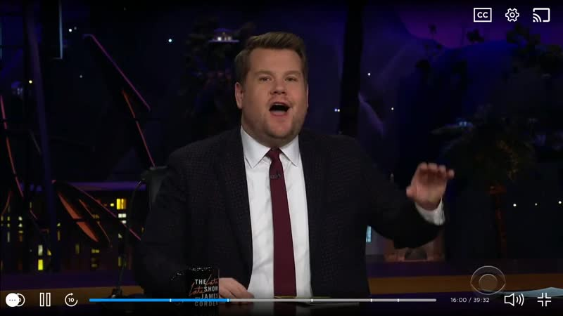 The Late Late Show with James Corden 2-18-19 Julia Michaels Niall Horan Escape Room Performance