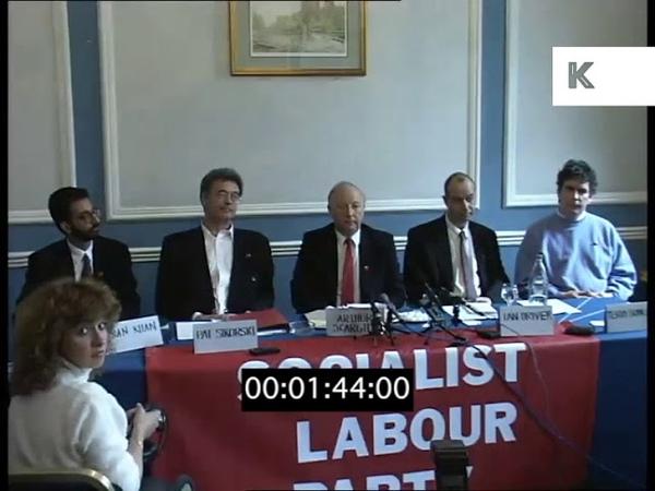 1996 Socialist Labour Party Launch Press Conference