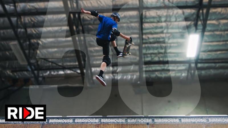 Tony Hawk 50 tricks at Age 50