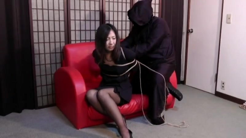 Tied up japanese lady 1