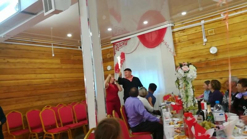 Красно-белая свадьба.Закаменск.