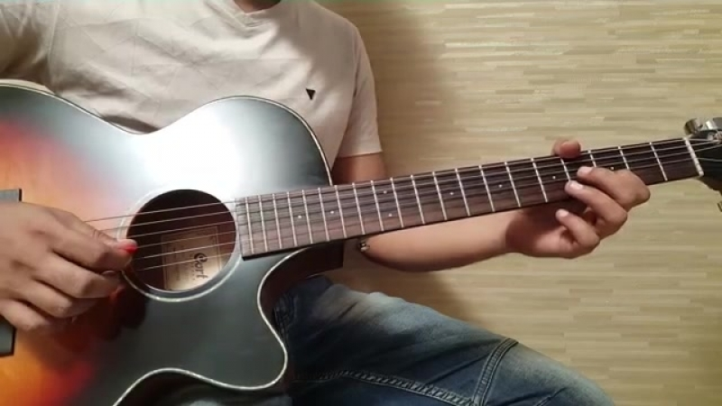 Guitar play neele neel ambar pe