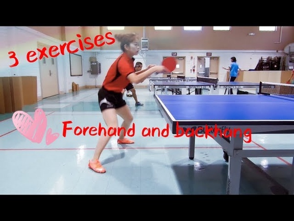 Three exercises about forehand and backhand——Yangyangs table tennis lessons