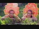 Матрешки Арфистки RUSSIAN girls Kalinka-malinka Electro harp duet