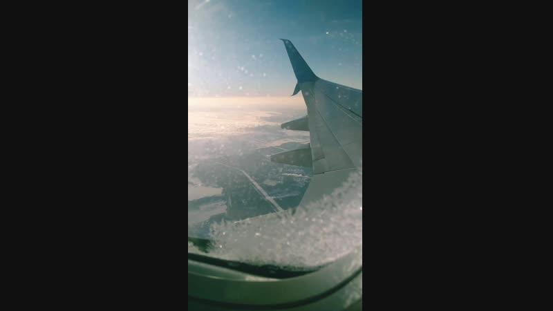 Горы с самолёта