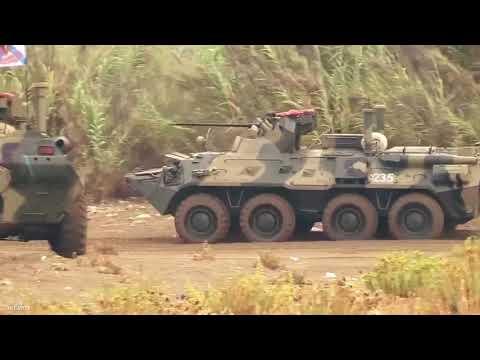 Крупномасштабные военные маневры российс
