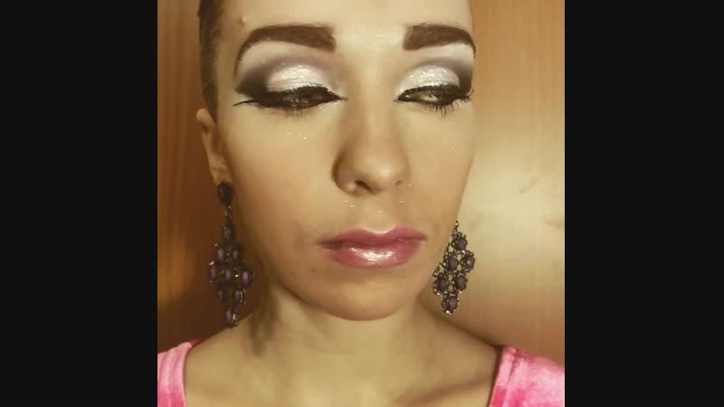 прическа макияж для бальных танцев невест выпускных стилист Алия Гайсина