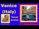 VENICE ITALY Trevel Events Gondolieri boatmen from Venice 3