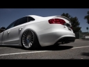 B8 S4 on Accuair Air Suspension