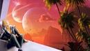 Очень красивый инопланетный мир Внеземные цивилизации