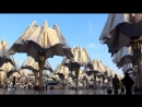 Гигантские автоматические зонтики в Саудовской Аравии