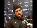 Captain David Villa speaks of Anton Tinnerholm