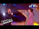 Nicola Cavallaro et Nolwenn Leroy As G Michael M J Blige The Voice France 2017