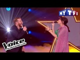 Nicola Cavallaro et Nolwenn Leroy - As (G. Michael &amp M. J. Blige) The Voice France 2017