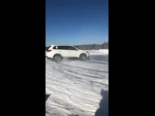 Пока еще на дорогах остались снег и лёд…