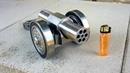 SIX Barrel Powerful Mini Cannon. 9mm Caliber. Most Powerful mini Cannon EVER