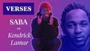 "Saba on Kendrick Lamar's The Heart Pt 2"" VERSES"